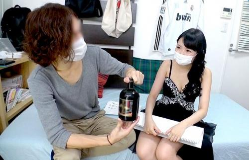 【隠し撮り】指名のキャバ嬢にネット放送の出演を依頼しパコキャス流出映像!