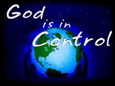RELAX – GOD IS IN CONTROL