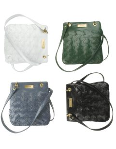Gryson for Target Patent Woven Cross-Body Pouch