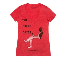 Out of Print Great Gatsby Lewis Edition Tee