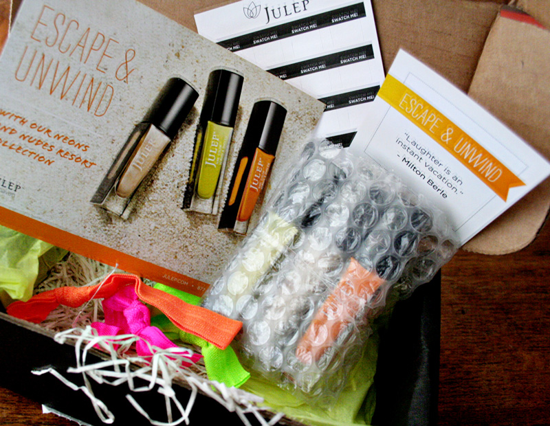 Julep Neon & Nudes Giveaway