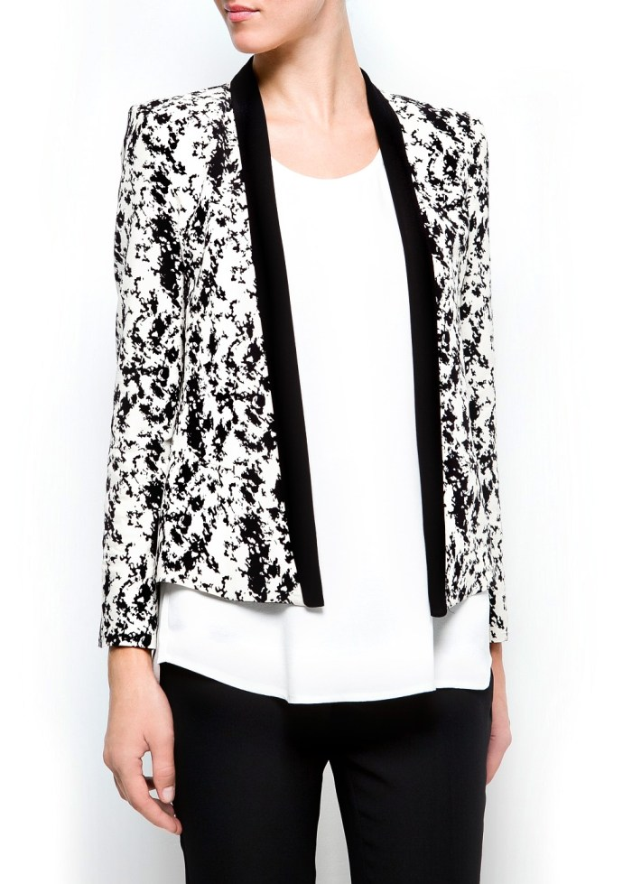 Printed Blazers: Abstract Print Jacket