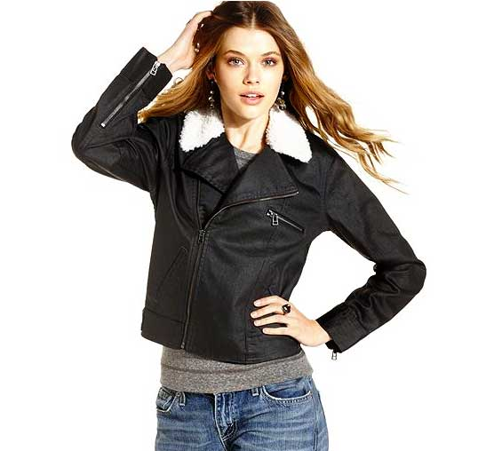 Levi's Denim Biker Jacket, $29.99