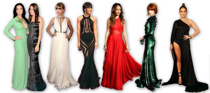 Ladies at the 2013 Grammys
