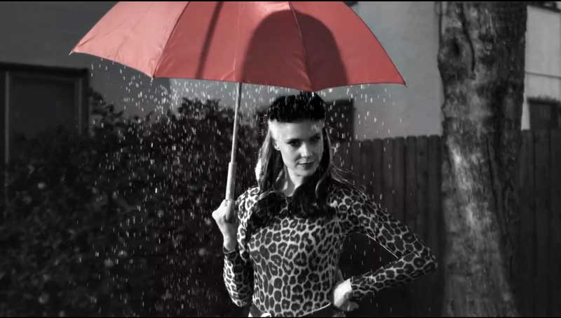 Kate Nash in Watsy's music video for Hey Asshole