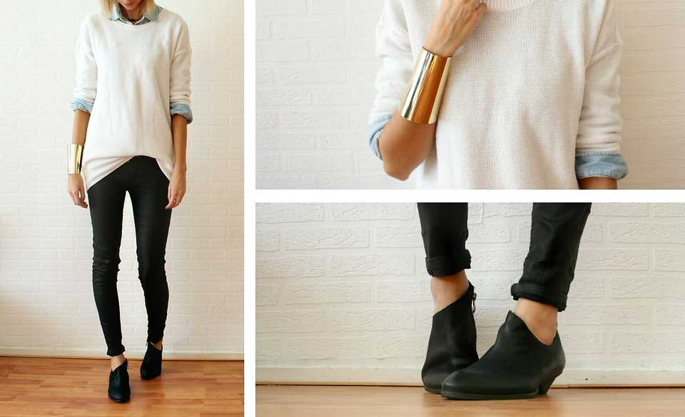 How The Internet Wears: Low Ankle Boots