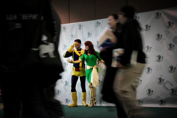 Superheroes at Emerald City Comicon 2013