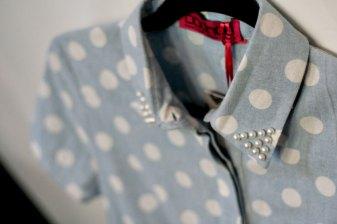 Pearl-Collar-Polka-Dot-Shirt-Dress