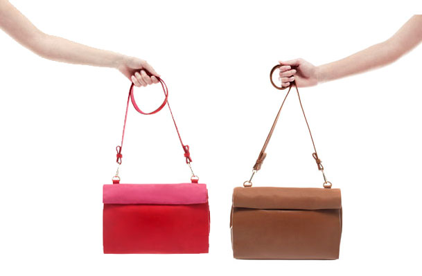 ZARA Paper bag Messenger Bags, $35.90