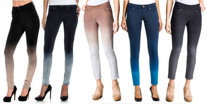 Ombre Denim Jeans
