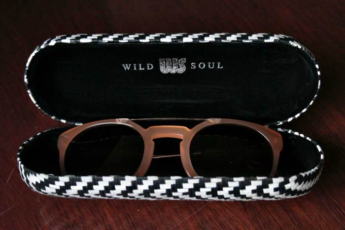 Wild Soul Sunglasses - Owl in Sand