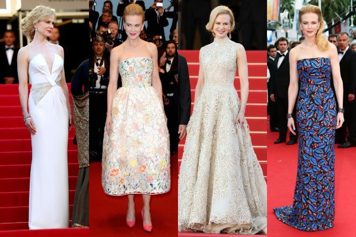 Nicole Kidman's Fashion at Cannes