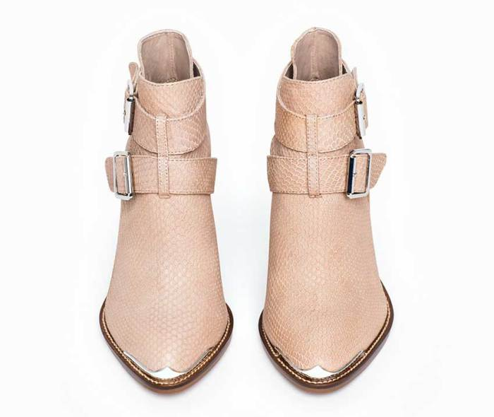 Milly Boot Pink Taupe