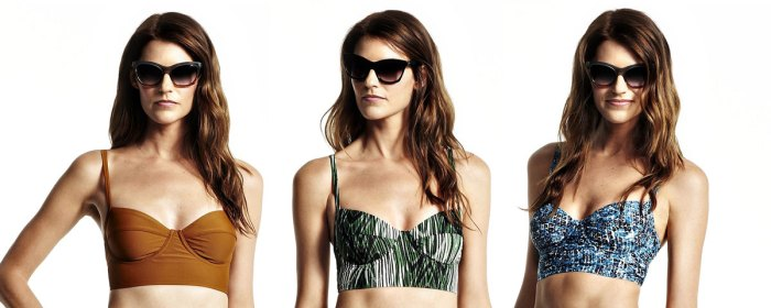 Daily Deal: Derek Lam DesigNation Midkini Swim Suit Top