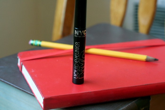 Drugstore Makeup Review of NYC Liquid Eyeliner