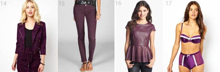 Violet & Purple Clothes