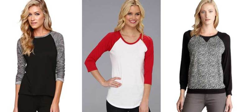 Budget-Friendly Raglan T-Shirts