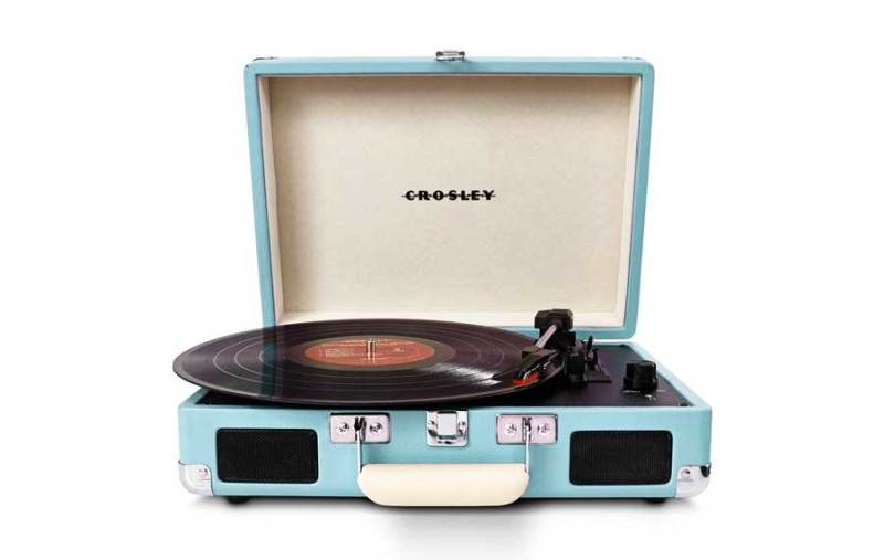 Crossley Portable Record Player