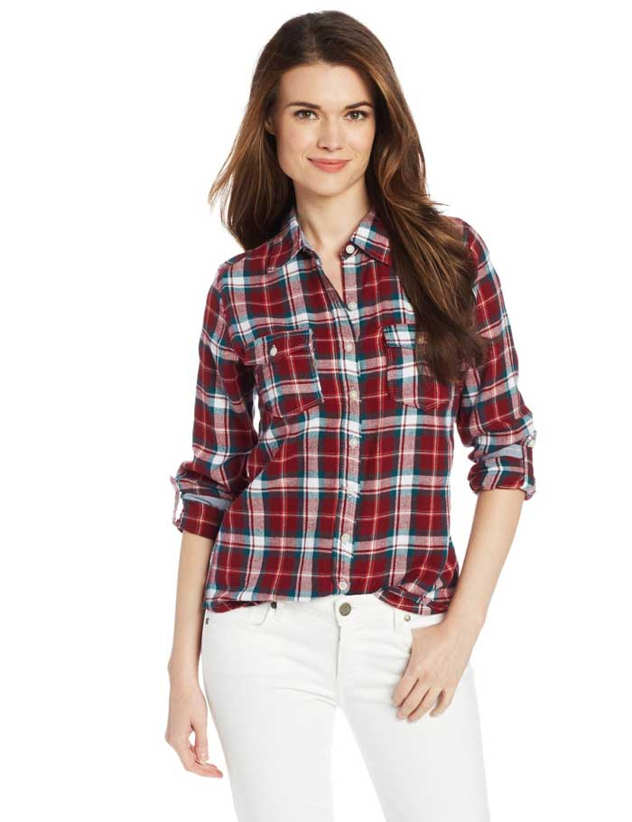 Coupe Collection Plaid Utility Shirt