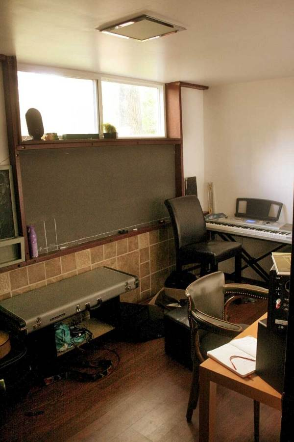 Music Studio - BEFORE TJ Maxx Refresher