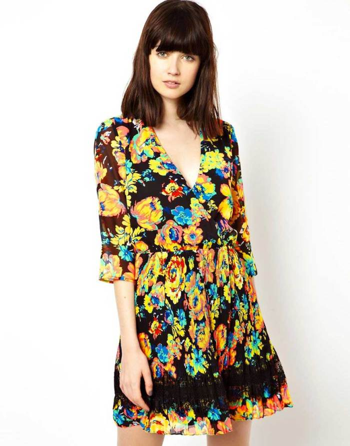 Floral Dress from ASOS 20% off Clearance Sale
