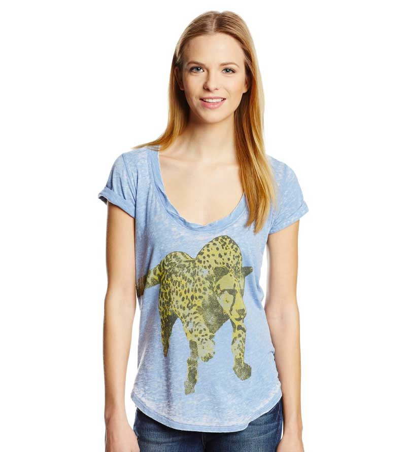 Graphic Tee Club: Signorelli Cheetah Print Tee