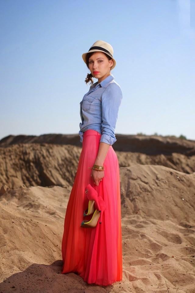 mon cherries crop top maxi skirt