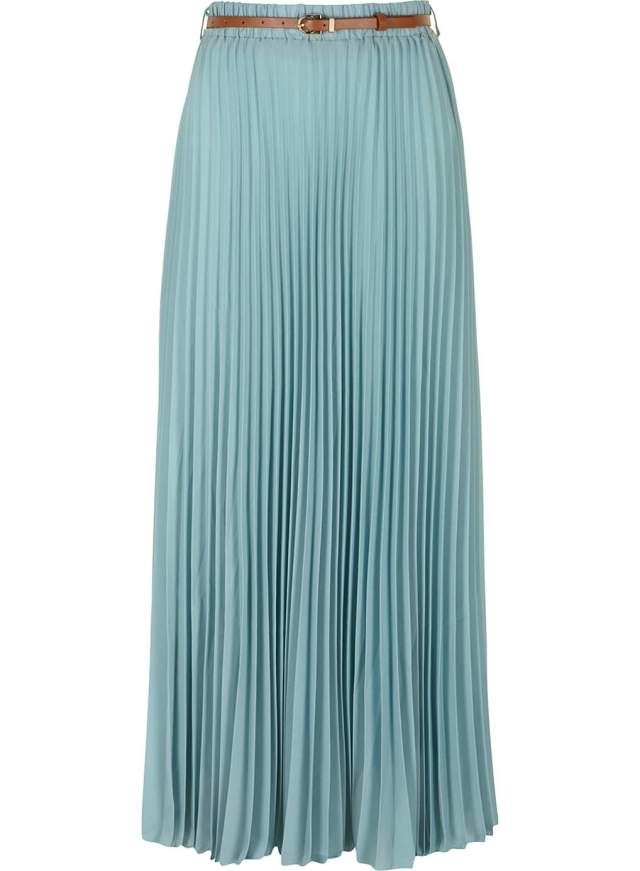 dorothy perkins pleated georgette maxi skirt