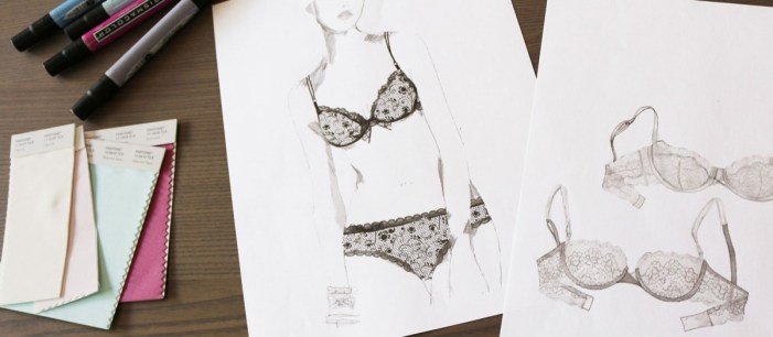 ThirdLove Lingerie Sketches