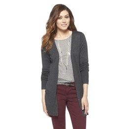 Ultrasoft Boyfriend Cardigan - Dark Grey