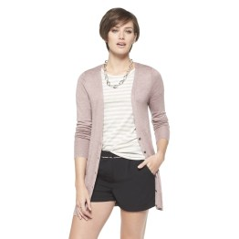 Ultrasoft Boyfriend Cardigan - Sea Fog Heather