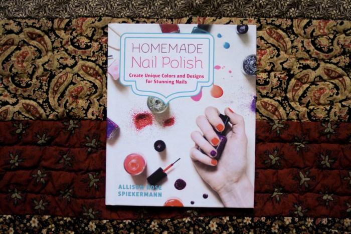 Homemade Nail Polish Book Review