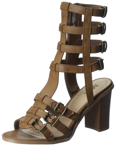 MIA Athens Gladiator Sandal Brown