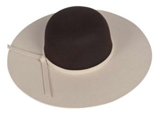 Boohoo Amy Colorblock Floppy Hat, $20