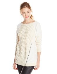 Sanctuary Clothing Asymmetrical Zip Sweatshirt, $28.24 (was $69)