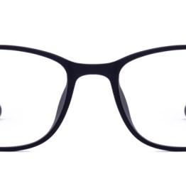 Black Matte Wayfarer Glasses