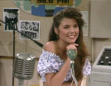 Kelly Kapowski Off Shoulder Puff Shirt
