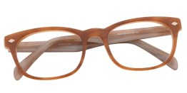 Light Brown Diamond Wayfarer Glasses