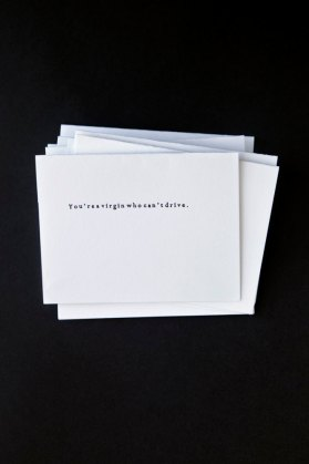 Clueless Notecards from Incandenza Press