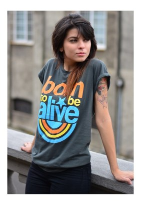 Plivertees Born To Be Alive Tee, $36.21