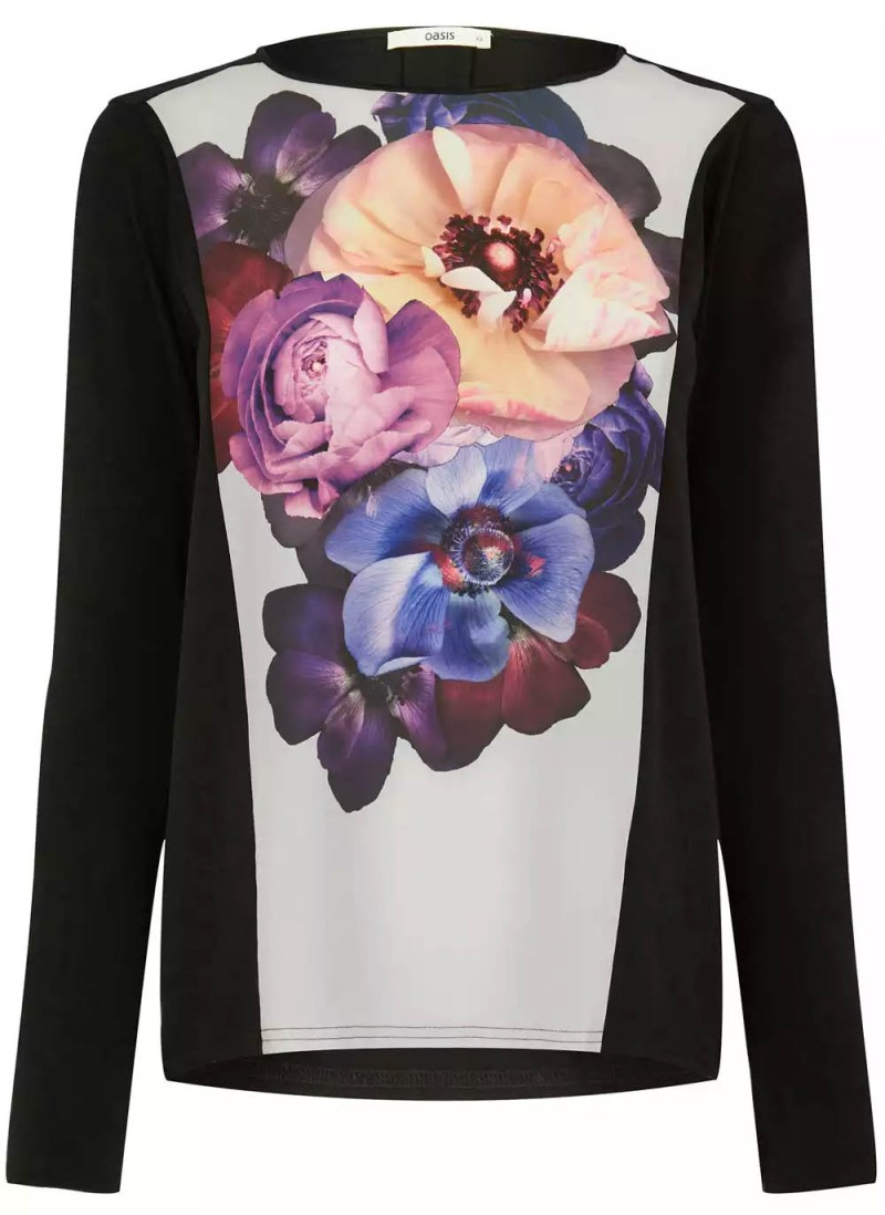 John Grant x Oasis Placement Floral Sweatshirt