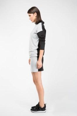3-14 Gray Front Dress
