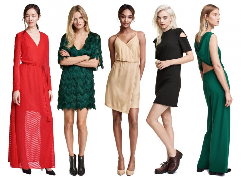 H&M Holiday Dresses 2015