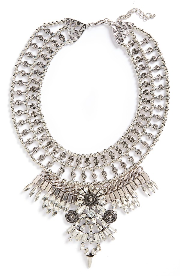 Leith Ornate Crystal Necklace