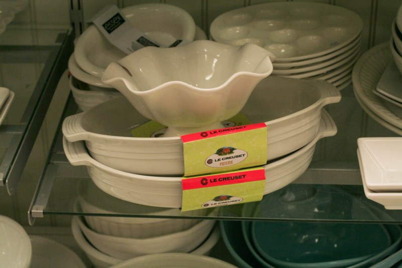 Le Creuset at Marshalls