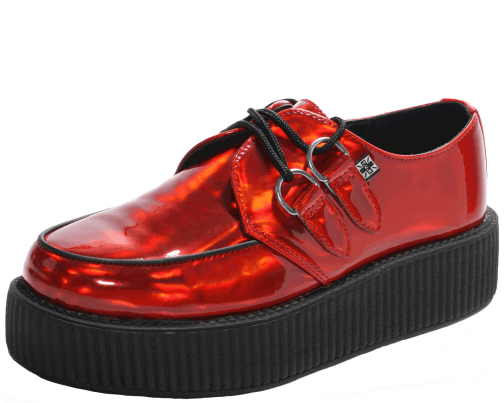 T.U.K. Red Prismatic Creepers