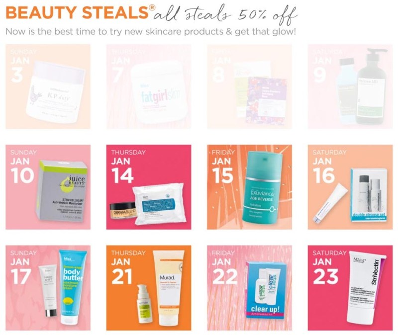 Ulta Glowing Skin Event - Skincare Sale
