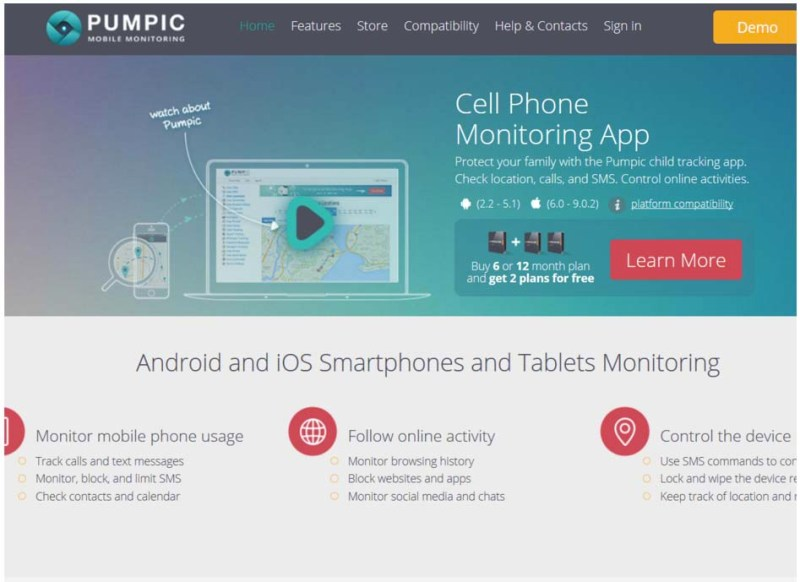 App - Pumpic Family Monitoring