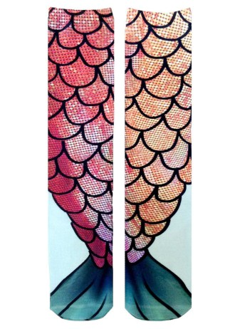 Nylon Shop Mermaid Knee Socks