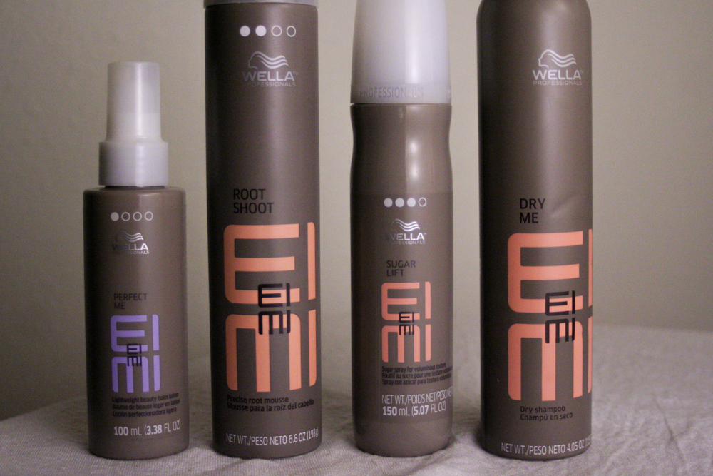 Hair Style Products: I (an Ultra Beginner) Review Styling Products From Wella